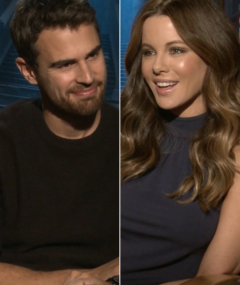 'Underworld: Blood Wars' Kate Beckinsale, Theo James Spill on Sword Fights,…
