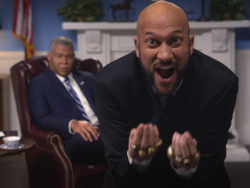 Key & Peele's Obama and Luther Relentlessly Mock Donald Trump: 'Got My Eye on You, Pussy-Grabber'