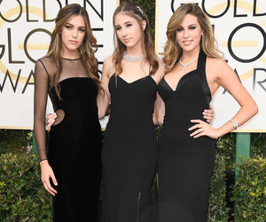 Sylvester Stallone's Daughter Steal the Spotlight as Joint Miss Golden Globes