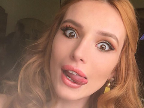 Bella Thorne Shares Powerful Acne Essay With No Makeup Photo