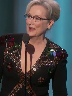 Meryl Streep Slams Donald Trump Without Saying His Name in Political Golden Globes Speech (Video)