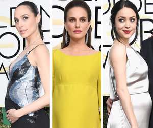 See All the Baby Bumps on the Red Carpet at the Golden Globe Awards