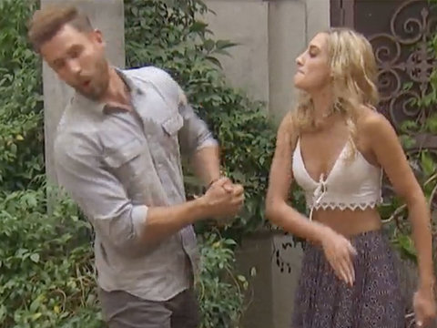 Why 'Bachelor' Star Nick Viall Gets Slapped by One of the Ladies (Video)