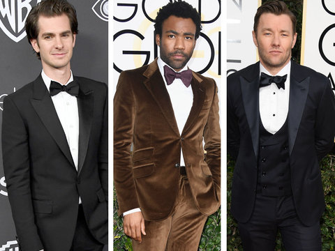15 Best Dressed Men at Golden Globes 2017: TooFab's Picks (Photos)