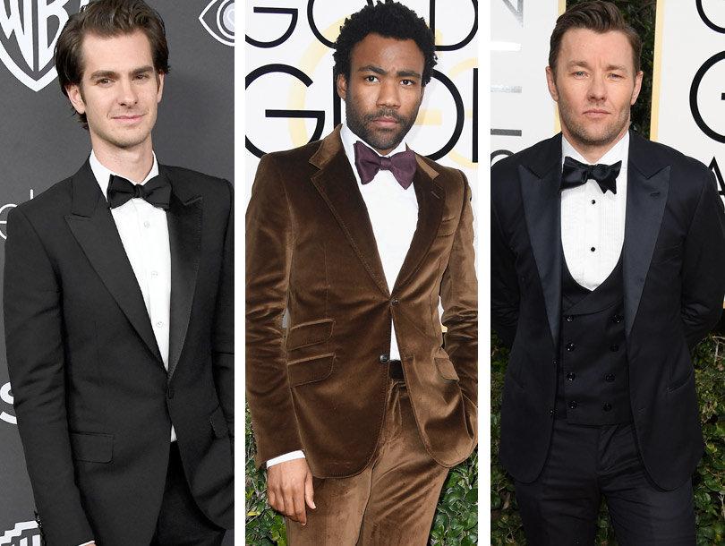 15 Best Dressed Men at Golden Globes 2017: TooFab's Picks (Photos)