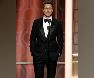 Can We Just Talk About How Hot Brad Pitt Looked at the Golden Globes?!