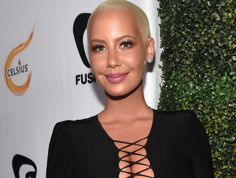 Why Amber Rose Is Just Not That Into Bisexual Men -- Or Threesomes (Video)