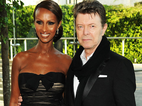 See How Iman Honored Late Husband David Bowie on Anniversary of His Death