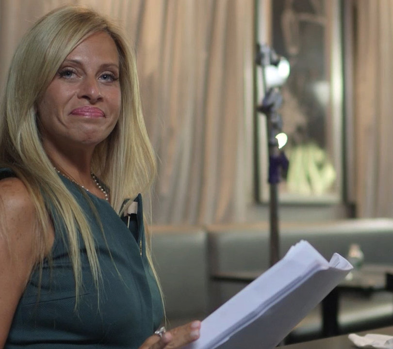 Behind the Scenes of 'Real Housewives' Alum Dina Manzo's Acting Debut in 'Tainted Dreams' (Exclusive Video)