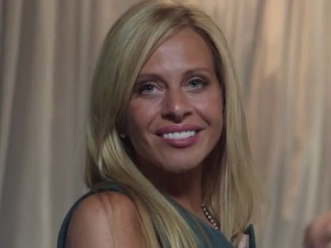 Behind the Scenes of 'Real Housewives' Alum Dina Manzo's Acting Debut in 'Tainted Dreams'…