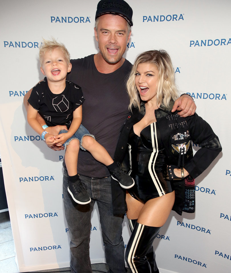 See Fergie and Josh Duhamel Celebrate 8 Year Anniversary with Son Axl (Photo)