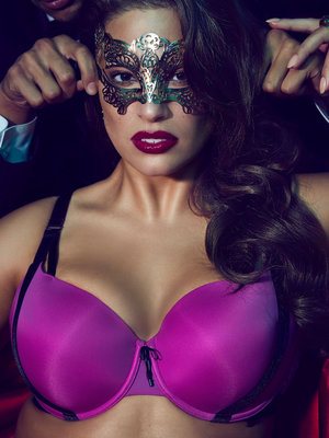 Ashley Graham's New Lingerie Campaign Is Giving Us Major 'Fifty Shades' Vibes (Photos)
