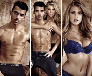 Joe Jonas and Charlotte McKinney Strip Down for Sweaty GUESS Underwear Campaign…