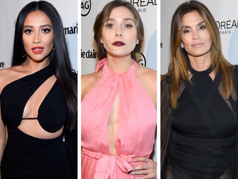Marie Claire's Image Maker Awards: See Shay Mitchell, Cindy Crawford and More (Photos)
