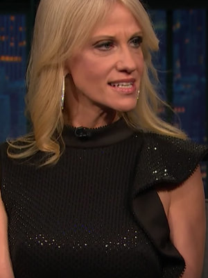 Seth Meyers Grills Trump Advisor Kellyanne Conway Over Bombsell Russia Reports, Kanye and Twitter (Video)
