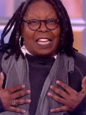 Whoopi Goldberg Uses Trump-Russia Reports as 'Golden Opportunity' for Jokes on 'The View' (Video)
