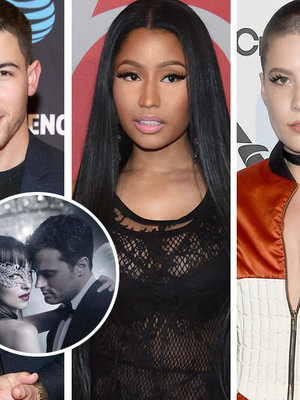 22 Music Artists on 'Fifty Shades Darker' Soundtrack: Nick Jonas, Halsey, Nicki Minaj…