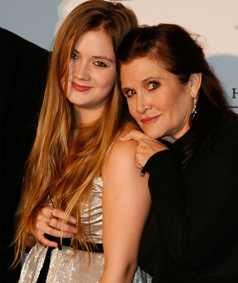 Billie Lourd Shares Poignant Tribute to Mom Carrie Fisher (Photo)