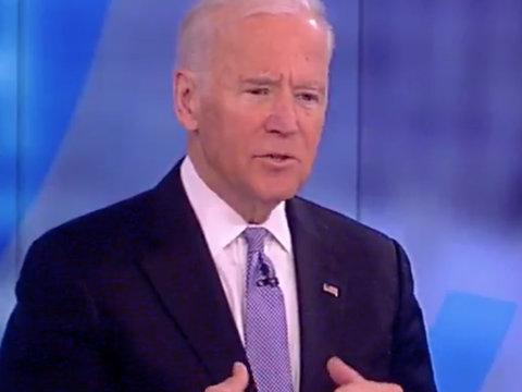 Joe Biden Tells 'The View' Ladies That Donald Trump's Twitter Habit Is 'Not Healthy'…