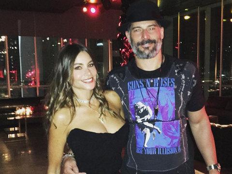 Inside Joe Manganiello's 40th B-Day Bash -- Did Sofia Vergara Lose a Tooth?! (Photos)