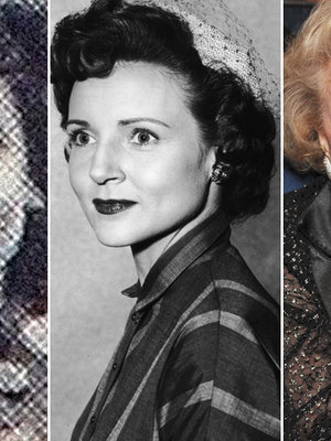 Betty White Turns 95 -- TooFab Throws Back to High School!