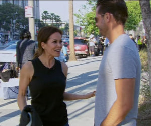 Brooke Burke & David Charvet's 'Apprentice' Argument