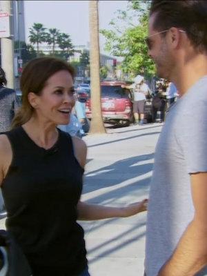 Brooke Burke & David Charvet's 'Apprentice' Argument