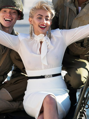 Paris Jackson Stuns In Glam Photo Shoot In Front of the Eiffel Tower (Photos)