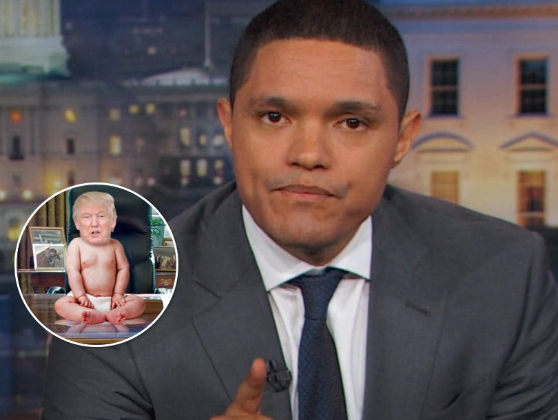 Trevor Noah Reveals How Obama Is 'Baby Trump Proofing' America
