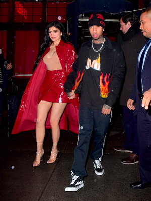 Kylie Jenner's Red Hot Look -- Fab or Drab?