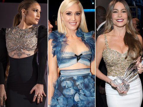 People's Choice Awards 2017 Fashion: J.Lo, Gwen and More! (Photos)