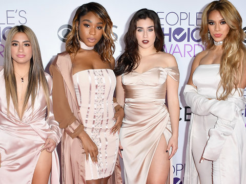 Fifth Harmony Makes Red Carpet Debut as a Foursome at People's Choice Awards (Photos)