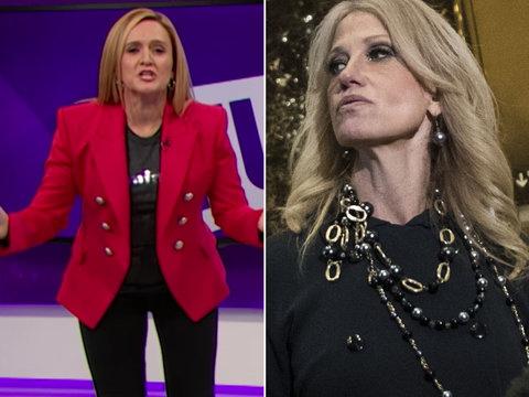 Samantha Bee Hails Trump's 'Spokescobra'