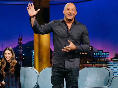 See Vin Diesel Audition for James Corden's 'Carpool Karaoke' (Video)