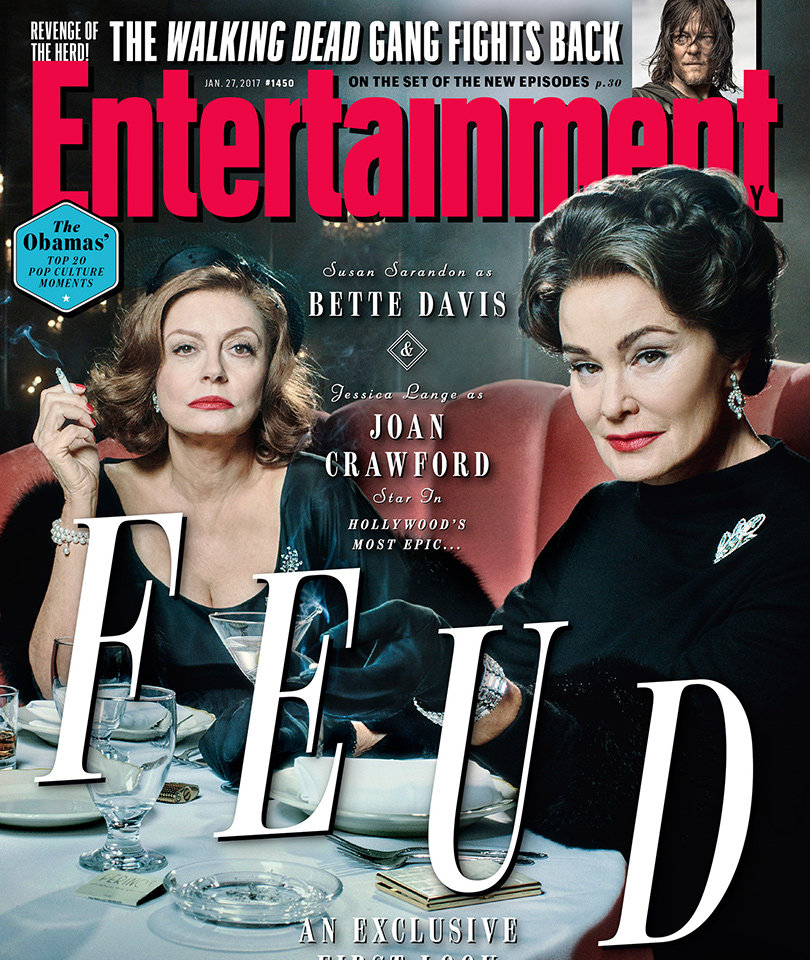 This Week's Cover: Inside Ryan Murphy's Feud: Bette and Joan
