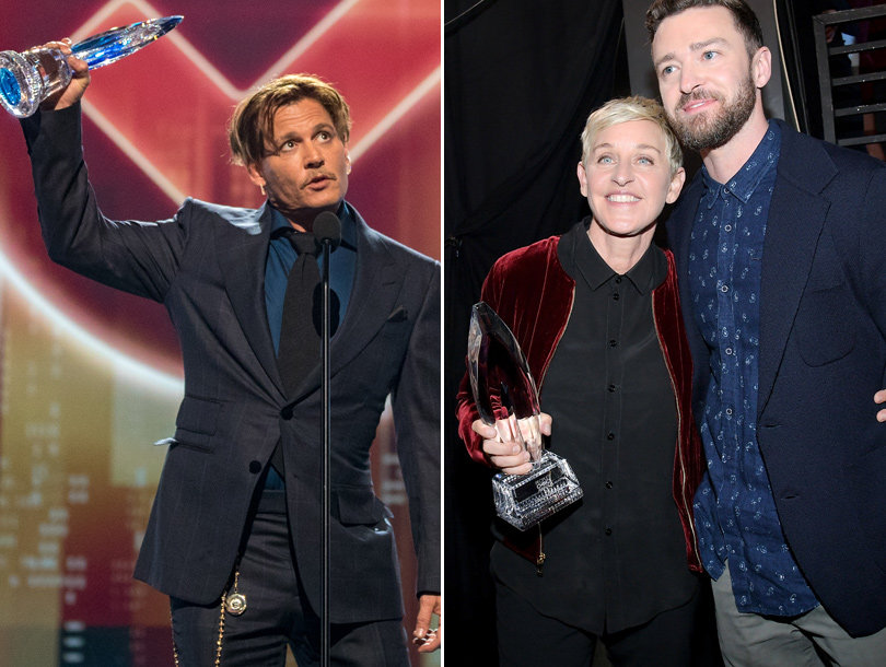 5 Buzzy People's Choice Award Moments -- And Complete Winners List (Video)