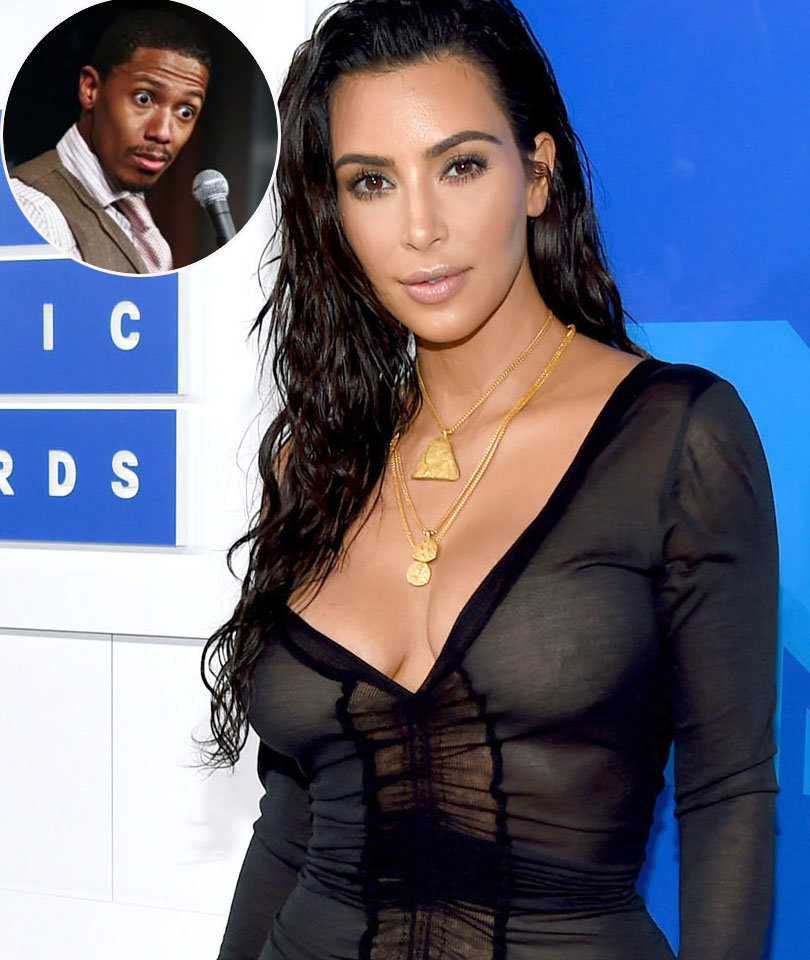 Nick Cannon Shares Throwback From Kim Kardashian Relationship (Photo)