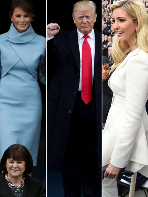 Donald Trump's Inauguration Day Photos (Updating Live)