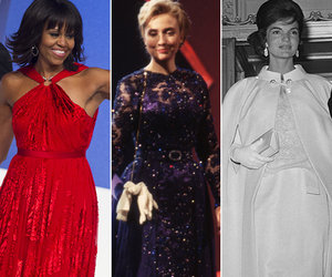 15 Inaugural Ball Gowns Worn by Former First Ladies (Photos)