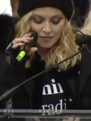 "Madonna Says She Thought About ""Blowing Up the White House"" During Impassioned Women's…"