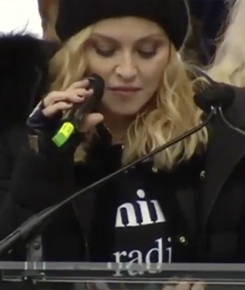 """Madonna Says She Thought About """"Blowing Up the White House"""" During Impassioned…"""