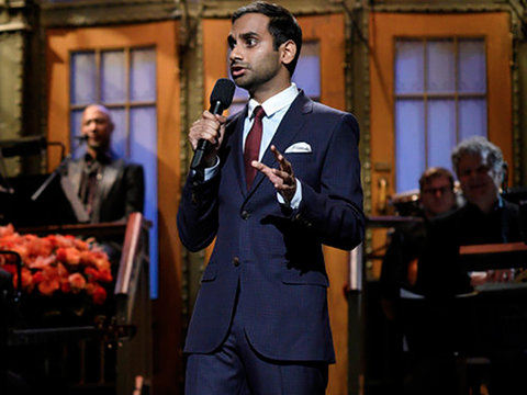 Aziz Ansari Delivers Blistering Anti-Racism, Trump-Centric Monologue on 'Saturday Night…
