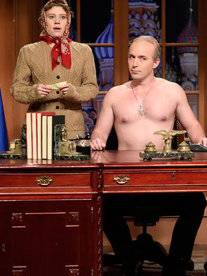 'Putin' Mocks Trump's Inauguration on 'SNL,' Cast Gives Musical Sendoff to President…