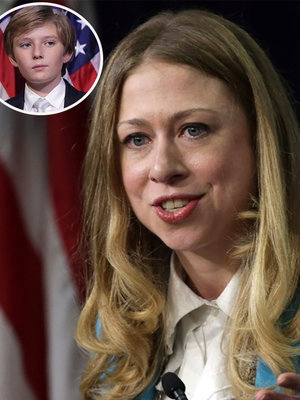 Chelsea Clinton Defends Donald Trump's 10-Year-Old Son Barron, Takes a Shot at His Father