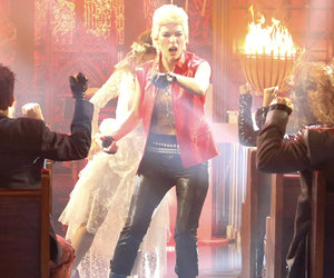 Milla Jovovich Transforms Into Billy Idol for 'Lip Sync Battle' (Video)