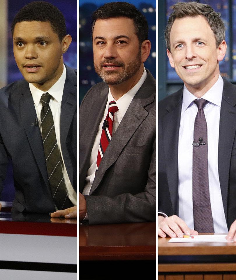 Late Night TV Mocks Trump Camp's 'Alternative Facts': See Trevor Noah, Jimmy…