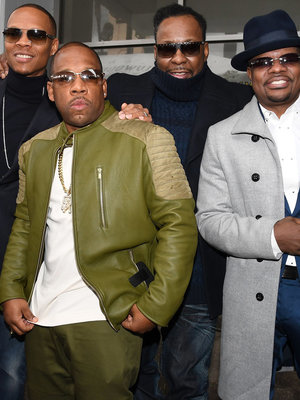 Bobby Brown and New Edition Honored with Star on Hollywood Walk of Fame (Photo)