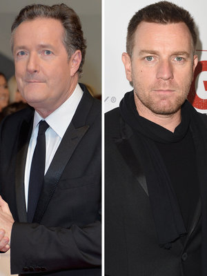 Ewan McGregor Rips Piers Morgan for Attacking Women's March And Drops Out of Interview