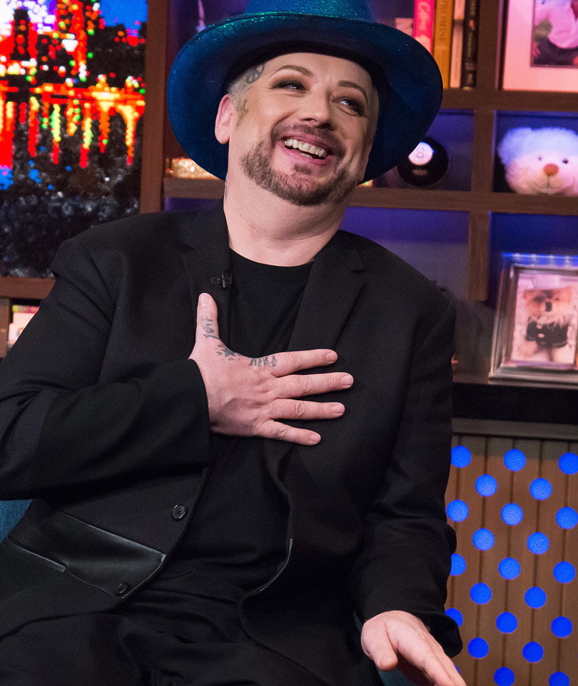 Boy George Describes His 'Feud' with George Michael (Video)