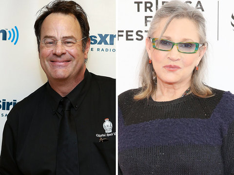 See Dan Aykroyd's Emotional Tribute to Former Fiancee Carrie Fisher